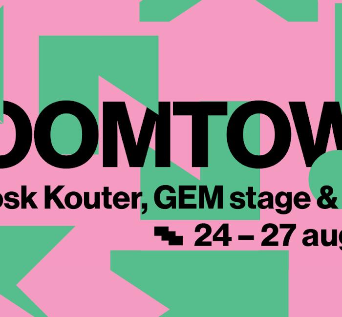 Press Release: GEM-Stage @ Boomtown Gent x Studio Brussel