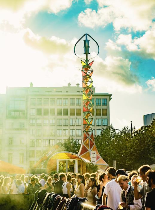 Photo's: GEM-Stage at Boomtown Gent & StuBru 2021